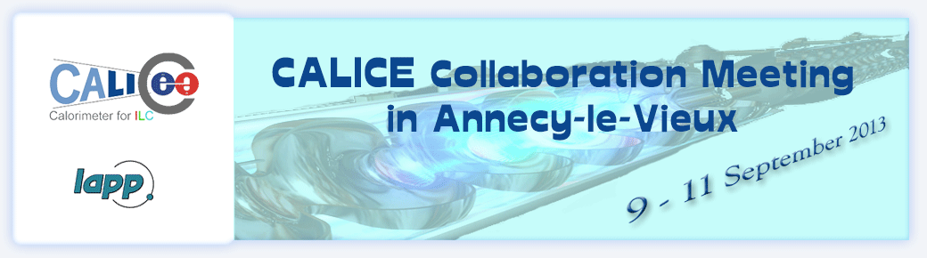 CALICE Collaboration Meeting in Annecy